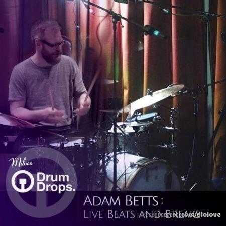 DrumDrops Adam Betts Live Beats and Breaks 1