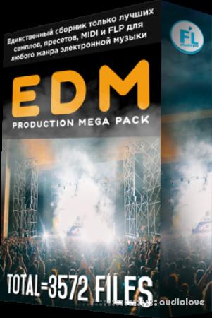 FL Studio PRO EDM Production Mega Pack