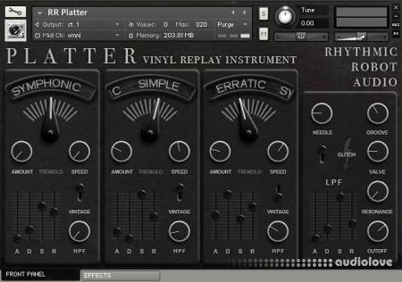 Rhythmic Robot Platter