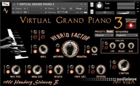 Art Vista Virtual Grand Piano 3