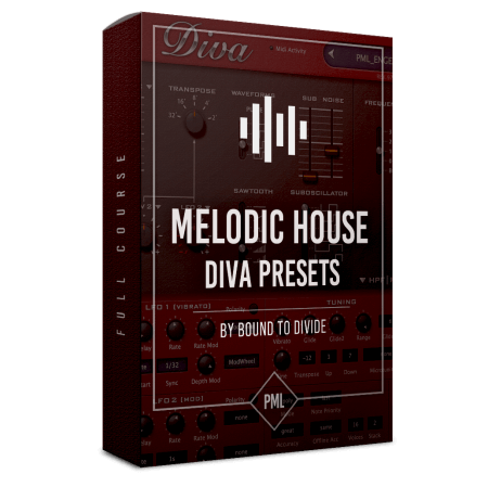 Production Music Live Diva Preset Pack Melodic House by Bound To Divide