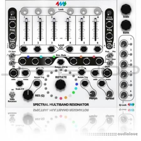 Softube 4ms Spectral Multiband Resonator