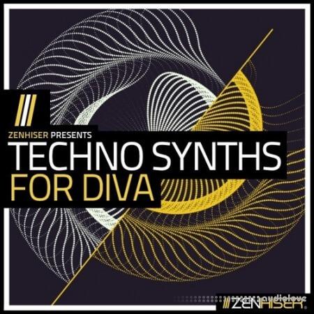 Zenhiser Techno Synths For Diva