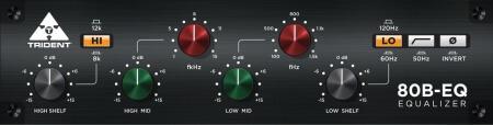 Trident Audio Developments 80B EQ